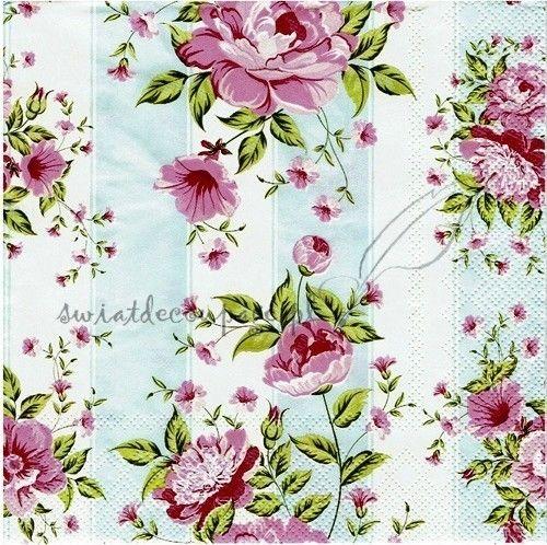 serwetka - róże pastelowe 637SF