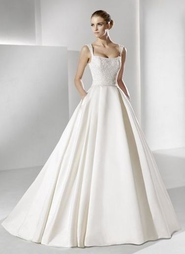 29 best Vestidos de Novia images on Pinterest | Wedding frocks ...