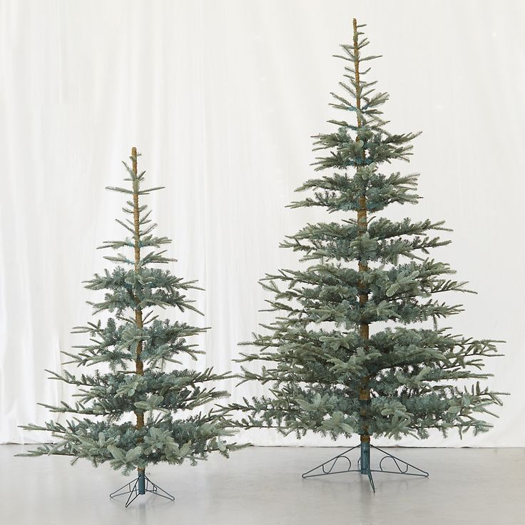 Faux Noble Fir in HOLIDAY Faux Trees + Greens at Terrain  I FOUND THE TREE POTTERY BARN DOESN'T SELL!