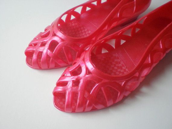 Vintage Jelly Shoes
