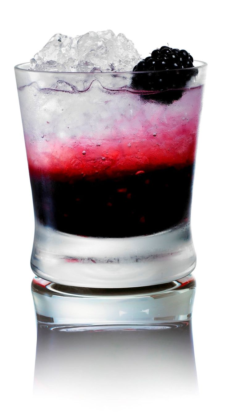 """""""Vampire"""" berry cocktail with a big bite of vodka 