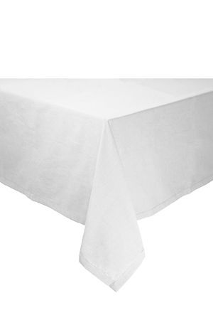 This 100% pure cotton tablecloth has a hole stitch border and is highly durable, making it suitable for everyday use with the convenience of being machine washable and quick to dry. This tablecloth is best for 6 to 8 seater tables.