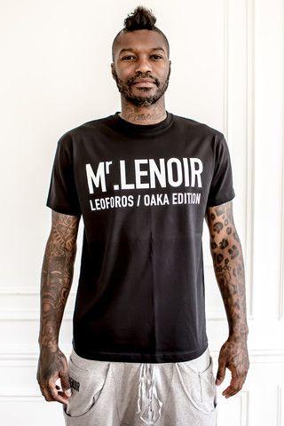 Mr Lenoir Black Tee-shirt Gate 13 - Mr Lenoir - Crée par Djibril Cissé