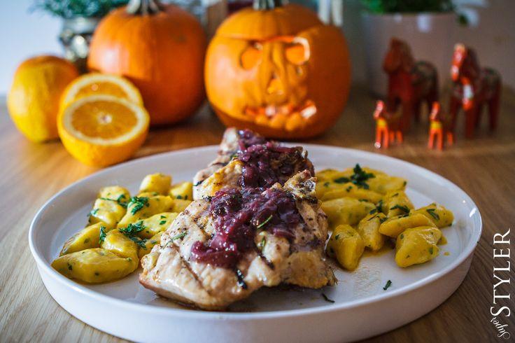 Trzydyniowy obiad #dynia #obiad #halloween #przepis #superstyler