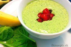 Zelená zmrzlina (z banánu a špenátu)