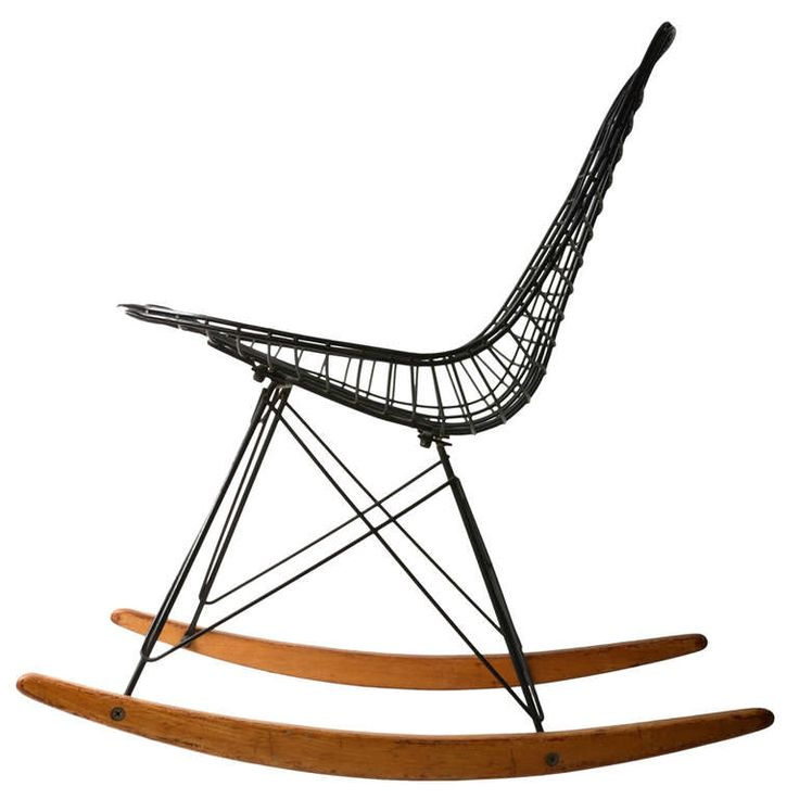 eames wire rocker modern rocking