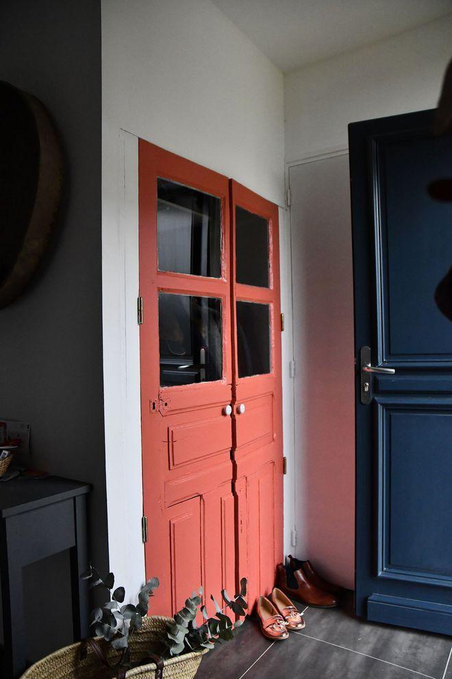 Peindre une porte  idées de couleurs Colors and shapes - Peindre Un Encadrement De Porte