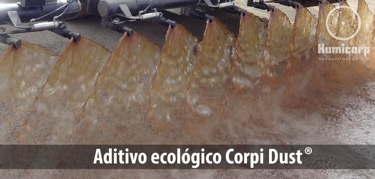 Aditivo ecológico Corpi Dust. #acopios #caminos #estabilización #bases #explanadas #minas #stabilization #dustcontrol #controldepolvo