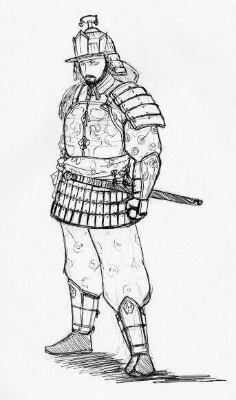 백제의 보병 Baekje's soldier(infantryman)