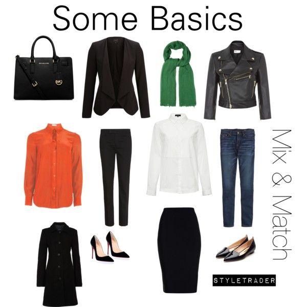 """""""Basics mix & match"""" by styletrader on Polyvore"""