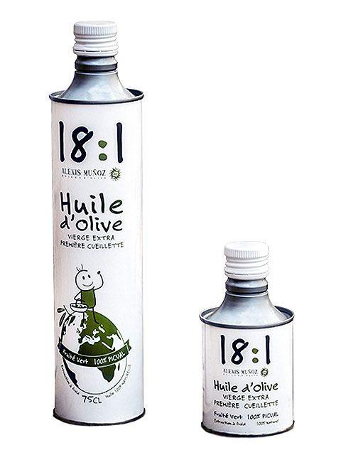 Huile d'olive verte fruitée 25 cl - Meilleur du Chef