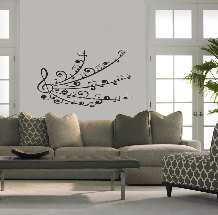 Best Music Theme Decals Images On Pinterest Vinyls Stickers - Wall vinyl stickerswall vinyl designs home design ideas