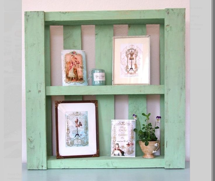 Pallet to shelf   ** Follow all of our boards** http://www.pinterest.com/bound4burlingam/