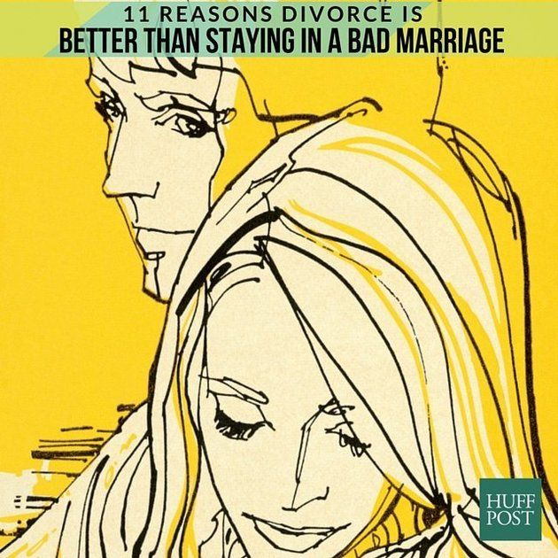 Deciding to end your marriage is never an easy task, but sometimes it's for the better.