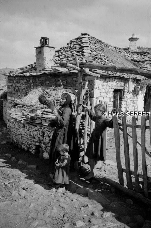 Ελλάδα, 1955. ΑΡΧΕΙΟ HANS GERBER. Το αρχείο φωτογραφιών είναι από την ETH BIBLIOTHEK της Ζυρίχης