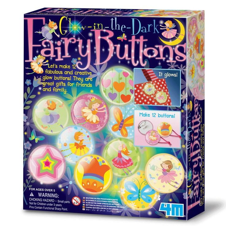Girls Age 6 Love Being Creative So This Fairy Buttons Kit Is Sure To Be A Hit