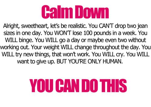 you're only human: Words Of Wisdom, Remember This, Calm Down, Pep Talk, Deep Breath, Reality Check, Keep Calm, Weights Loss, Fit Motivation