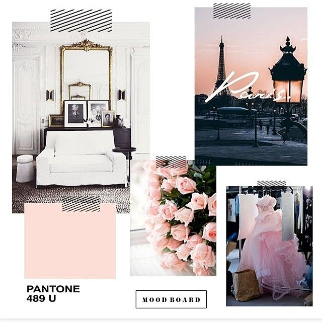 @stephsterjovski is inspired by pretty pinks and the City of Lights. What inspires you? #Paris #Inspiration #colorinspires