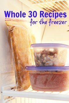 Whole 30 Recipes You Can Freeze | Good Cheap Eats  Want to eat healthfully without fussing in the kitchen? Enjoy easy meals that are good for you, too, with these Whole 30 recipes you can freeze.  http://goodcheapeats.com/2016/09/whole-30-recipes-you-can-freeze/