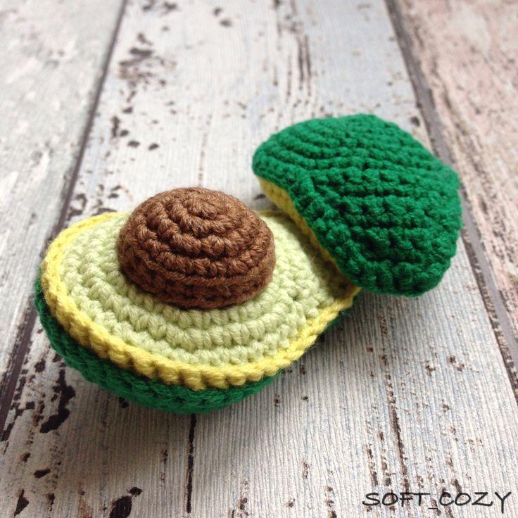 The 299 Best Food Crochet Fruit Images On Pinterest Crochet