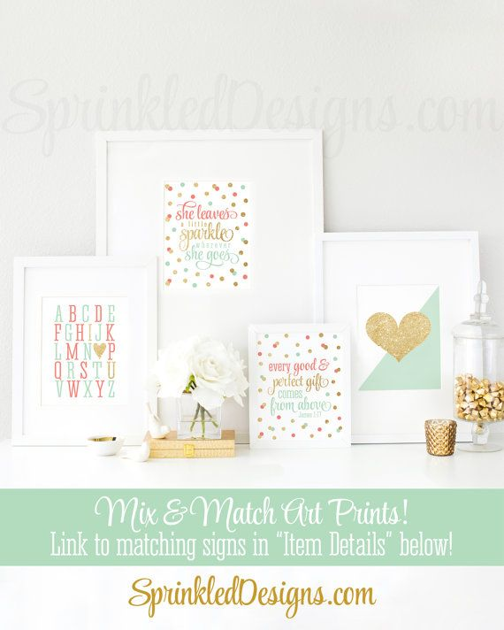 She Leaves A Little Sparkle Wherever She Goes Printable