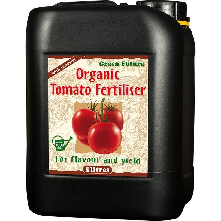 Green Future - Organisk tomatgödning 5 Liter #Tomatgödning #Näring #Organisk