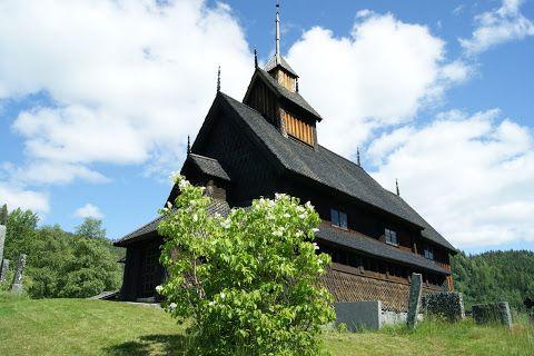 Eidsborg stavkyrkje i Tokke