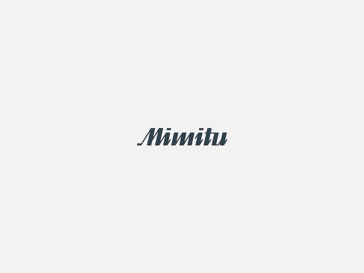 Logo. Logotyp. Łódź. MIMITU  | logotype, logo. Ortografika.