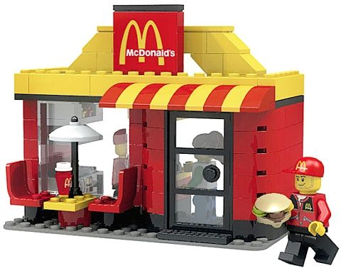 mini Mc Donald's. I'll take mine supersized please.