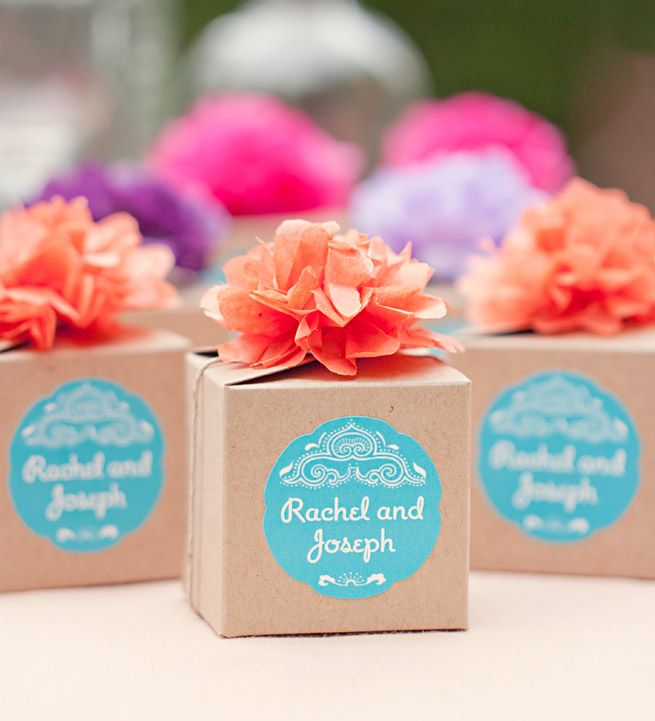 5 Ways To Style Clasp Favor Boxes Wedding Planning Pinterest