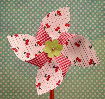 Pinspinners! A fun and easy paper craft!One Good Thing by Jillee | One Good Thing by Jillee