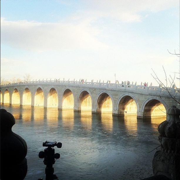 #颐和园 #Summer #Palace, 17-Arch Bridge, #Beijing