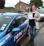 Congratulations to Lucy Boardman of Gillingham Kent, who passed her Practical driving test first time on Monday 18th May. Lucy passed her driving test at the Gillingham driving test centre. Good luck with the car shopping and look forward to seeing you driving around Gillingham very soon.  Well done Lucy this should really make a massive difference to you , and give you that all important independence.  All the best for the future from your driving instructor Liz and all the team at Topclass…