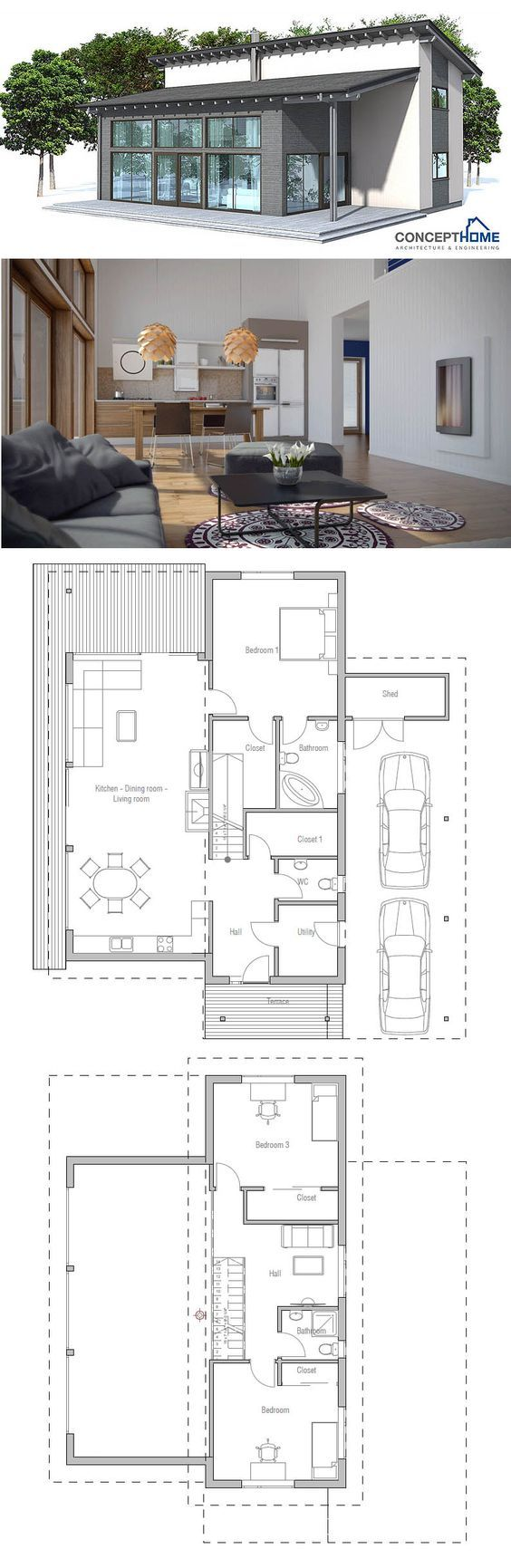 Container House Container House Plan bottom
