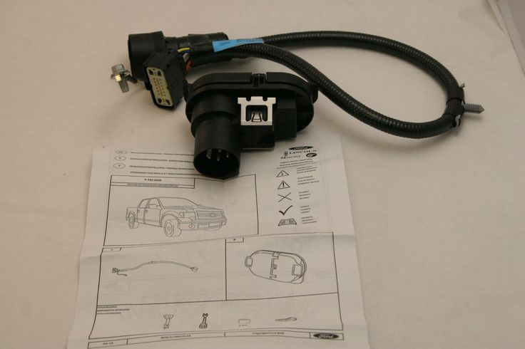 Ford Original OEM Trailer Hitch Rear Bumper Wire Harness