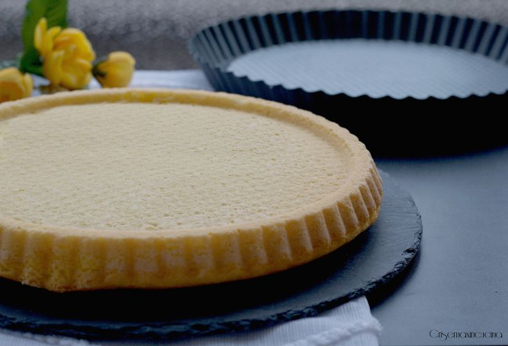 Crostata morbida, impasto base