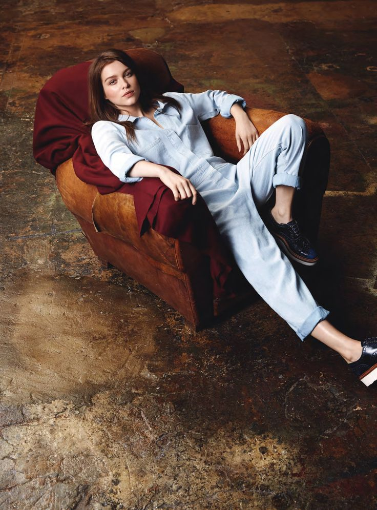 Sophie Cookson by Sevda Albers for InStyle UK February 2015