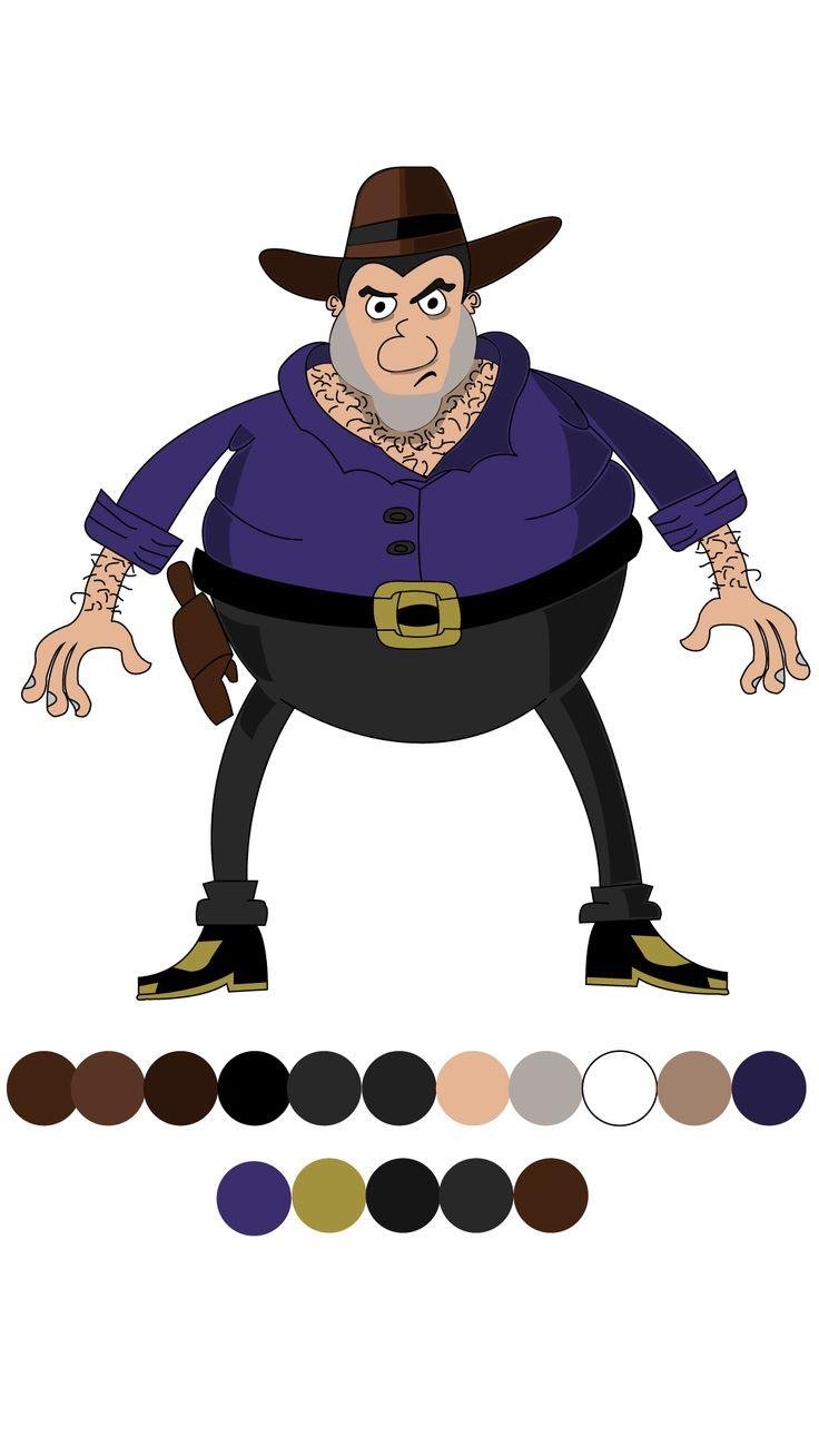 Creación personaje, herramienta Adobe Illustrator.