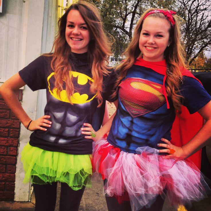 Batman and Superman Halloween Costumes