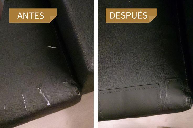 Parches para la Reparación de Cuero en uso | MastaPlasta#trucosencasa #diyencasa  #repararmuebles #reparacioncuero #bricolaje #manualidades #hogar #diy