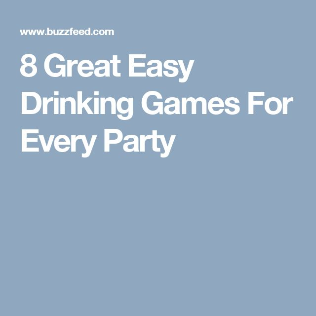 The 25 best drinking games cards ideas on pinterest drinking 8 great easy drinking games for every party ccuart Image collections