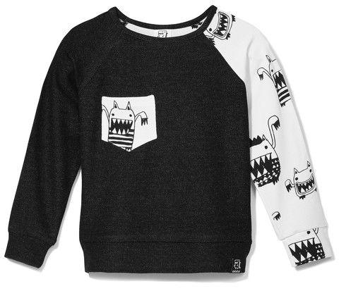 Kukukid | Off-white monster sweater