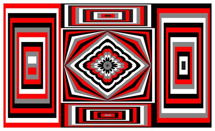 Little Op-Art experiment  <3  http://julianventer.com/video.html #julianventer  #OpArt