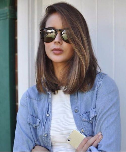 Medium Haircuts For Round Faces Hairstyles In 2018 Pinterest