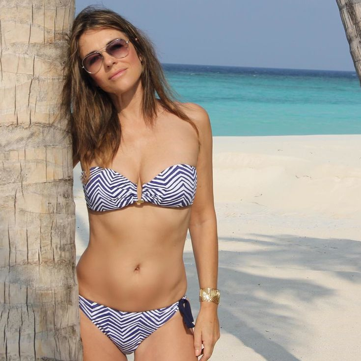 Over-50 Bikini Babes - Elizabeth Hurley from InStyle.com