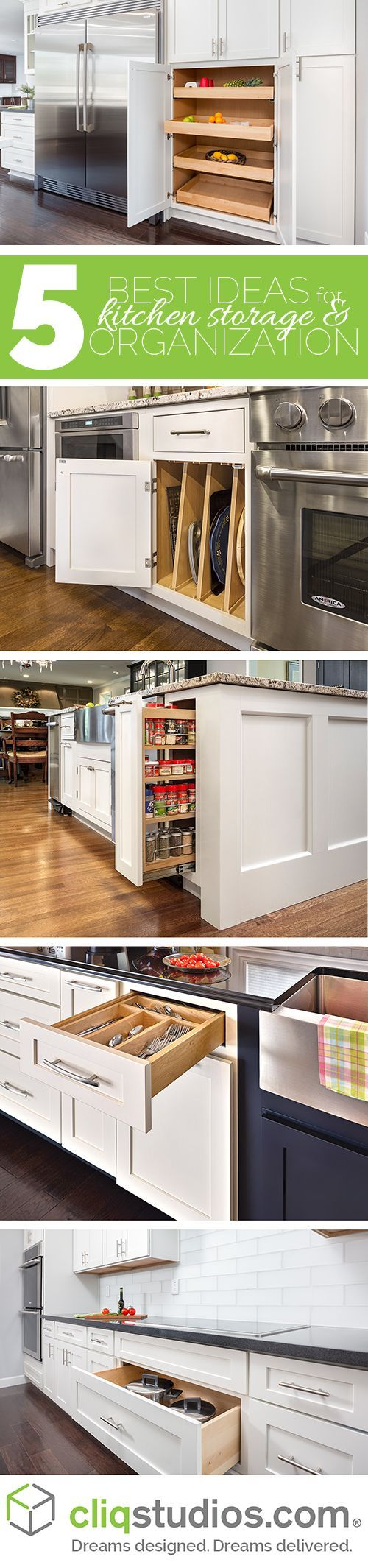 • •➖    www.mnmldecor.com    ➖• • Designer-recommended ideas for organizing your kitchen