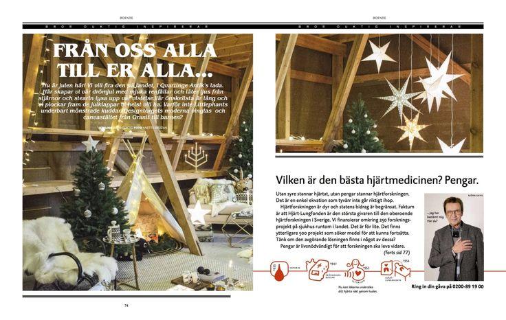 Decembernumret av magasinet Älskade Östermalm.
