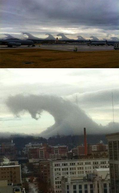 Tsunami clouds