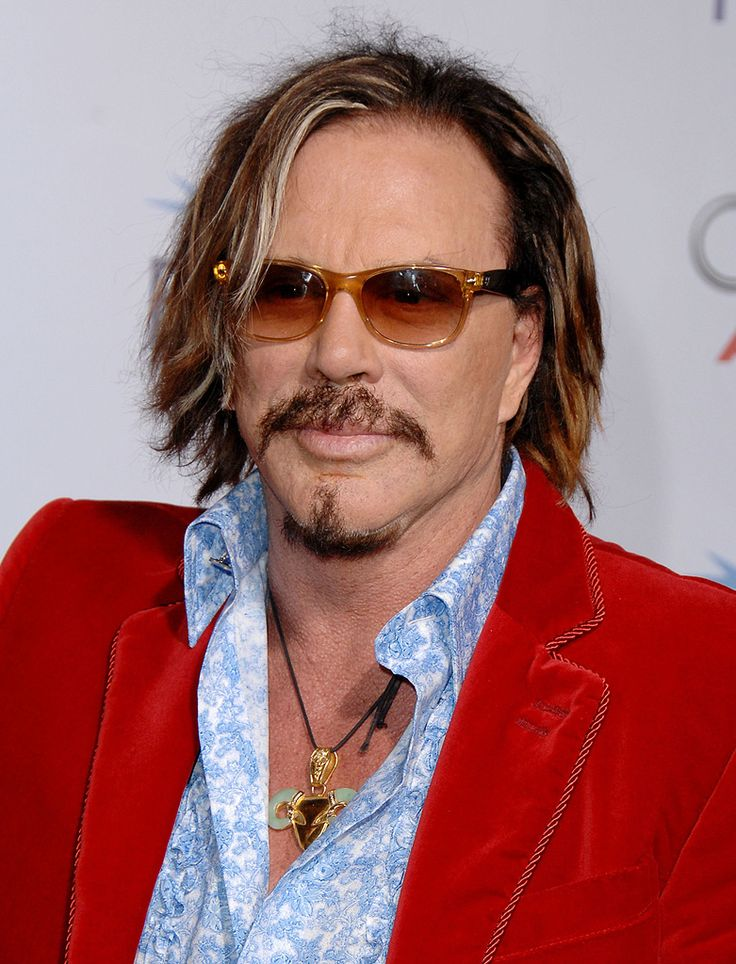 Mickey Rourke!!! My Favorite Actor!!! IN HollyWood!!!