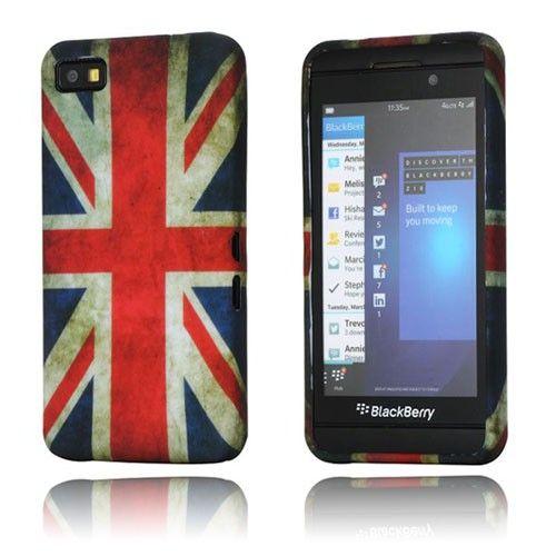 Symphony (Ison-Britannian lippu) BlackBerry Z10 Suojakotelo